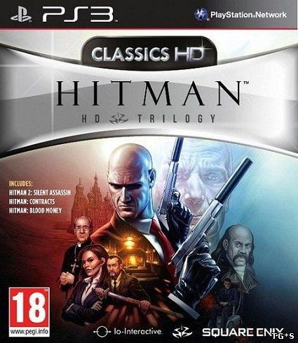 Hitman Trilogy HD [PS3] [EUR] [En] [4.21+] (2013)