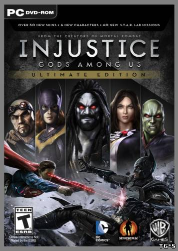 Injustice: Gods Among Us. Ultimate Edition [Update 5] (2013) PC | RePack by xatab