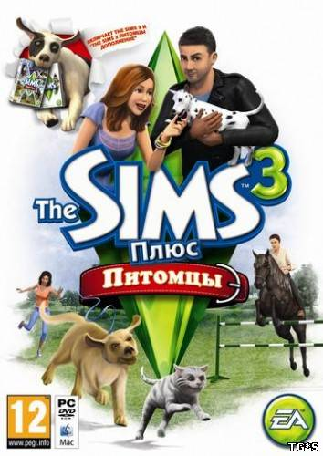 Sims 3: Питомцы/ The Sims 3: Pets (Electronic Arts) (MULTI/RUS/ENG)