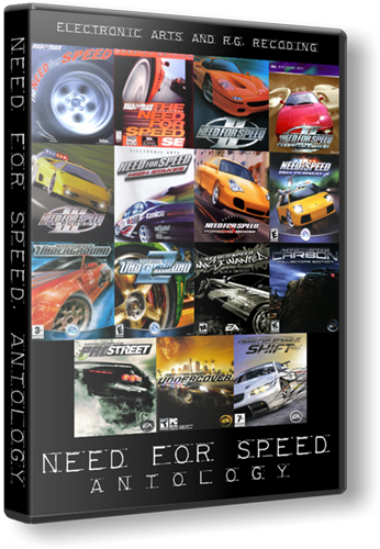 Need For Speed. Antology / Жажда скорости. Антология (Electronic Arts) (RUS) [RePack]