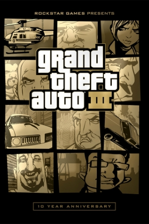 GTA 3 / Grand Theft Auto 3 - 10th Year Anniversary (2002) PC | RePack