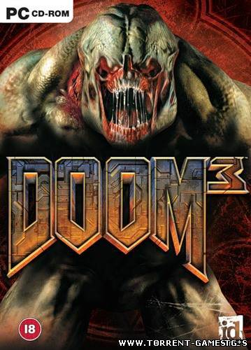 Doom 3 + Resurrection of Evil [1.3.1] [High-Definition Mod 1.2] (2004-2011) PC | RePack by tg