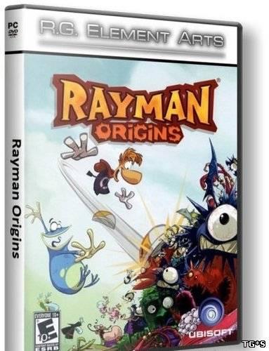 Rayman Origins (2012/ ENG/ RePack) от R.G. Element Arts