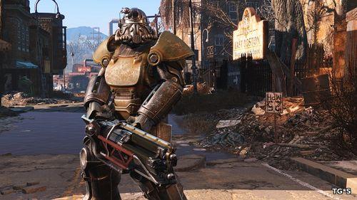 Fallout 4 PS4 Pro vs PS4 - Сравнение графики