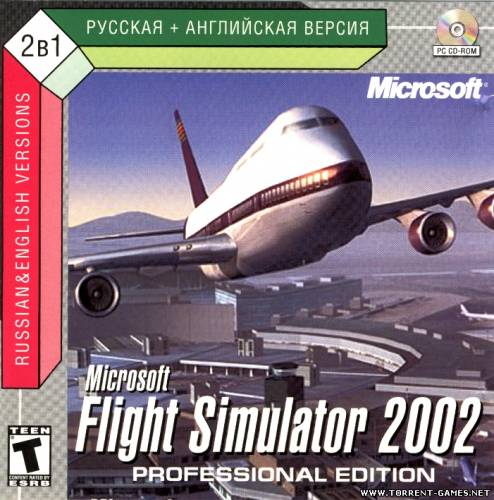 Microsoft Flight Simulator 2002 Professional Edition 2CD (.NRG) [RUS, ENG]