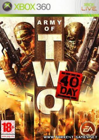 [XBox360] Army of TWO™ The 40th Day [русский текст] (2010)