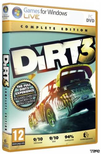 DiRT 3 Complete Edition (2015) PC | RePack от FitGirl