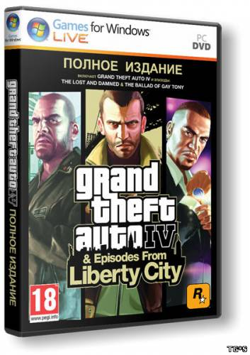 Grand Theft Auto IV. Complete Edition [2010|Rus|Eng|Multi9]
