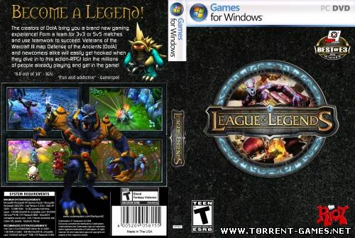 League of Legends / Лига Легенд [4.18.0.274] [2010, RPG, MOBA, MMORPG, Online Only]