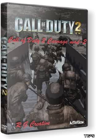 Call of Duty 2 - Carnage mod-2 (2012) | RePack от R.G.Creative
