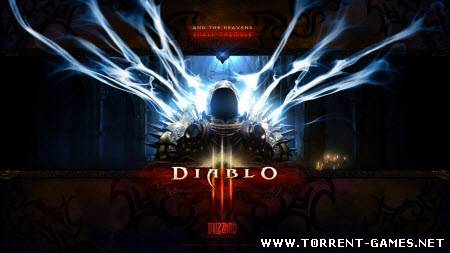 Diablo 3 [v.1.0.2.9991 Client Server Emulator V2 - Skidrow/Team Mooege] (2011/PC/Rus)