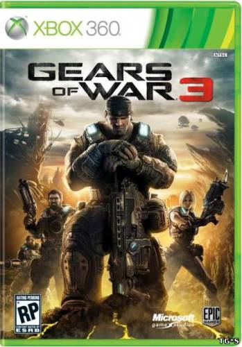 Gears of War 3 [JtagRip/RUS]