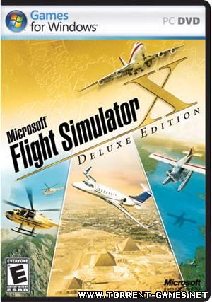 Microsoft Flight Simulator X(Deluxe Edition) + Разгон(Набор дополнений)